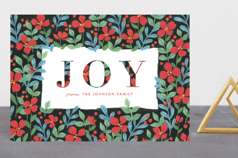Floral Joy Holiday Petite Cards