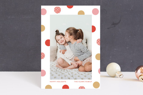 festive dots Holiday Petite Cards