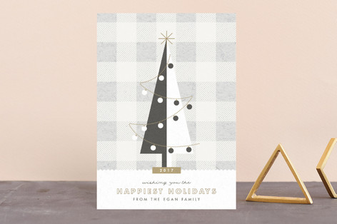 gingham tree Holiday Petite Cards