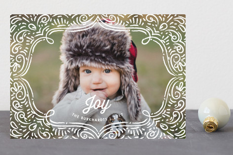 Drawn Frame Holiday Petite Cards