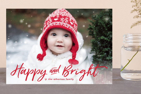 just merry and bright Holiday Petite Cards