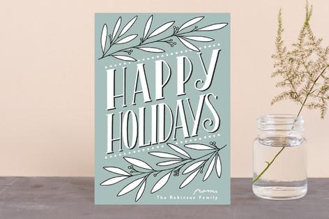 Botanical Deco Holiday Petite Cards
