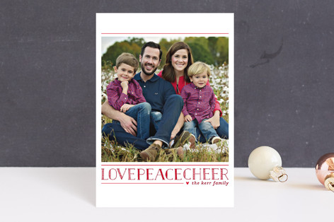 Love.Peace.Cheer Holiday Petite Cards