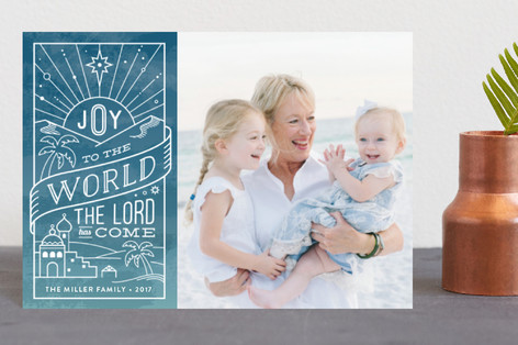 Ombre Joy Holiday Petite Cards