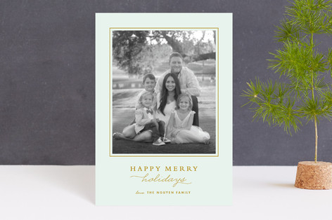Classic Holiday Petite Cards