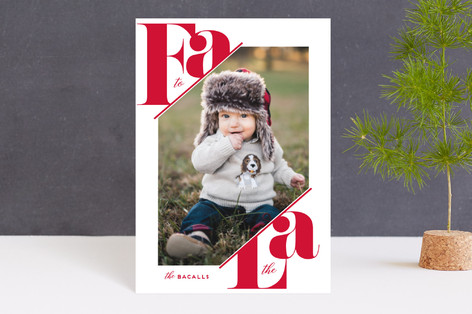 Fa La Bold Holiday Petite Cards