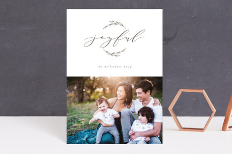 Peace in the New Year Holiday Petite Cards