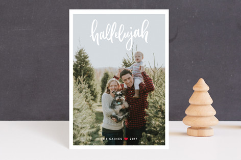 Simply Hallelujah Holiday Petite Cards