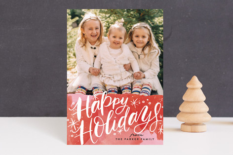 Merry Christmas Magic Holiday Petite Cards