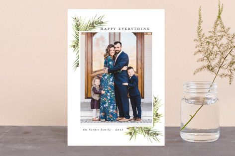 Corner Boughs Holiday Petite Cards