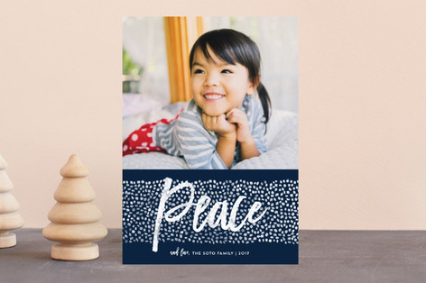 Peace Dots Holiday Petite Cards