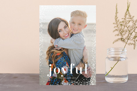 Shimmered Corners Holiday Petite Cards