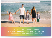From snow boots to swimsuits