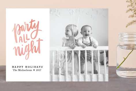 Party All Night Holiday Petite Cards