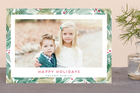 Bright Evergreens Holiday Petite Cards