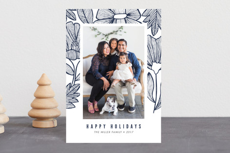 Lined Holiday Petite Cards