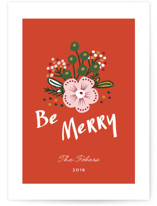 Be Merry Bouquet by Erika Firm