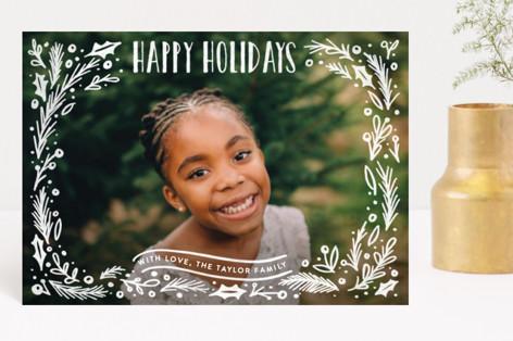 Christmas Framed Holiday Petite Cards