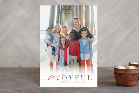 Merrily Frosted Holiday Petite Cards