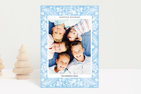 Watercolor Winter Holiday Petite Cards