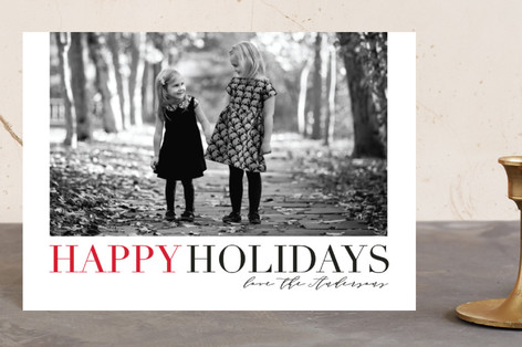 Christmas Classic Holiday Petite Cards