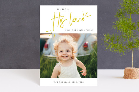 Delight in His Love Holiday Petite Cards