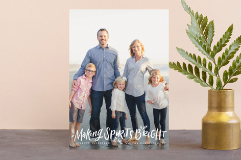 Making Spirits Oh So Bright Holiday Petite Cards
