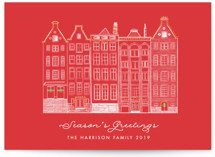 Amsterdam Row Houses by Becky Nimoy