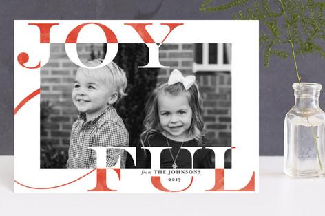 Joy Swash Ful Holiday Petite Cards