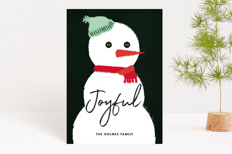 Snowman Holiday Petite Cards