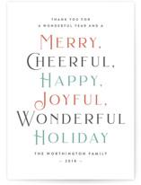 Merry Cheerful Joyful by Liz Conley