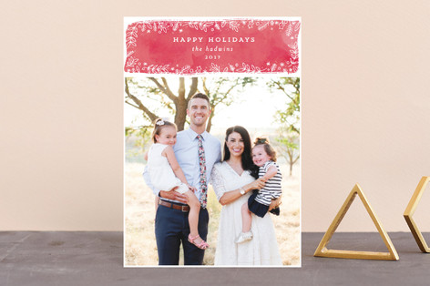 winter berries Holiday Petite Cards