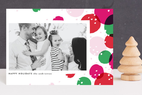 Bright and Dotty Holiday Petite Cards