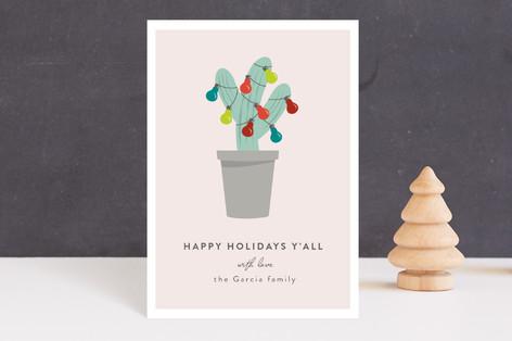 Texas Christmas Tree Holiday Petite Cards