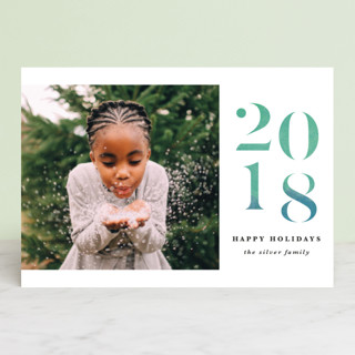 A Very Bright New Year Holiday Petite Cards