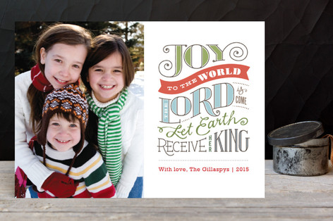 Joy to the World Holiday Petite Cards