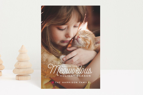 Meowvelous Holiday Holiday Petite Cards
