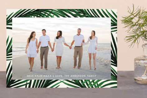 Tropical Love Holiday Petite Cards
