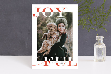 Joy Swash Ful Holiday Petite Cards