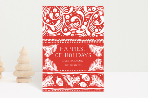 Nordic Winter Holiday Petite Cards