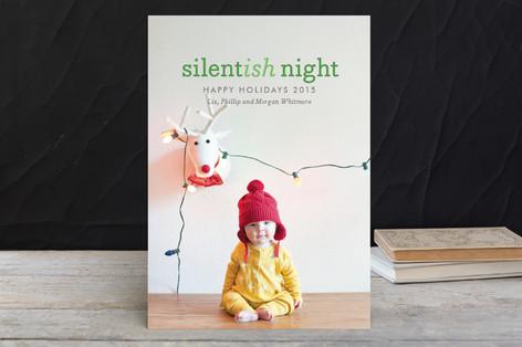 Silentish Night Holiday Petite Cards