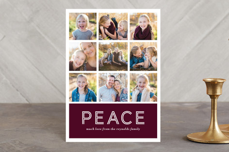 Multi-Peace Holiday Petite Cards