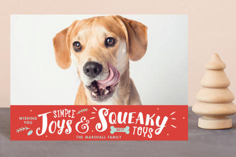 Simple Joys, Squeaky Toys Holiday Petite Cards