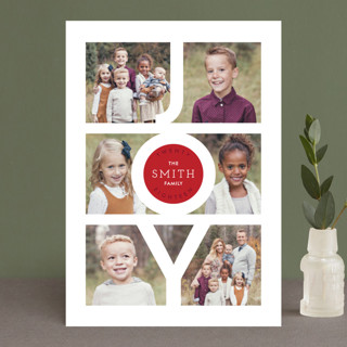 Modern Family Joy Holiday Petite Cards