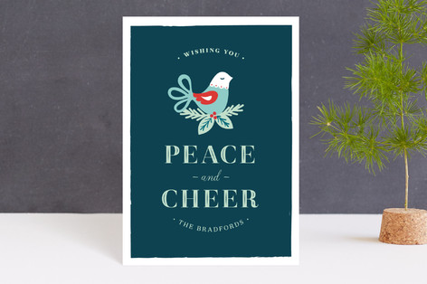 Peace and Cheer Holiday Petite Cards