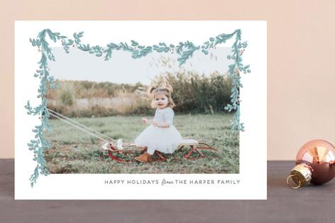 Wispy Garland Holiday Petite Cards