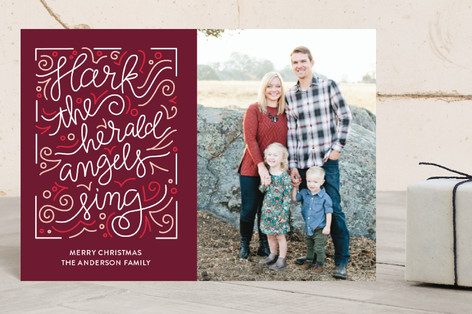 Angels Sing Holiday Petite Cards