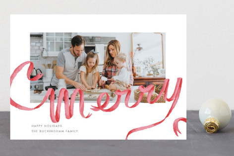 Merry Ribbon Holiday Petite Cards