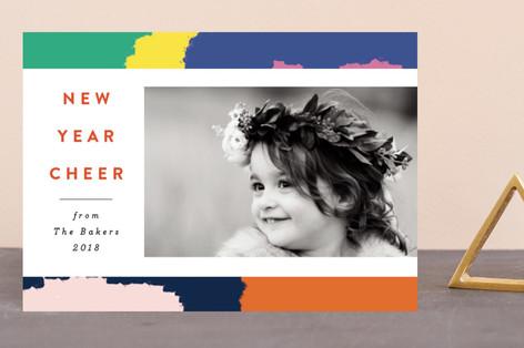 Vivid New Year Holiday Petite Cards