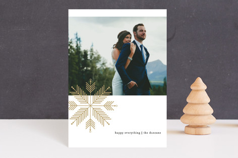 chevron flake Holiday Petite Cards